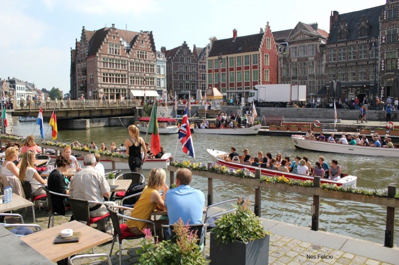 ghent river boat ride belgium