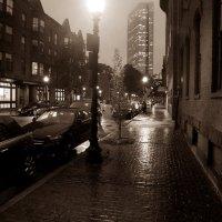 A Rainy Night in Boston